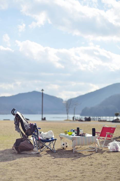 八千代湖でデイキャンプ