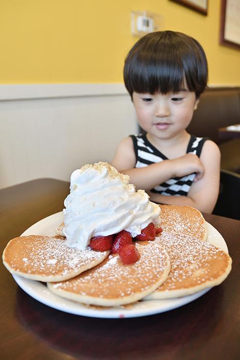 エッグスンシングスのパンケーキ