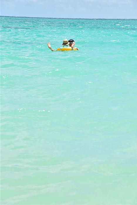 ラニカイビーチはきれい