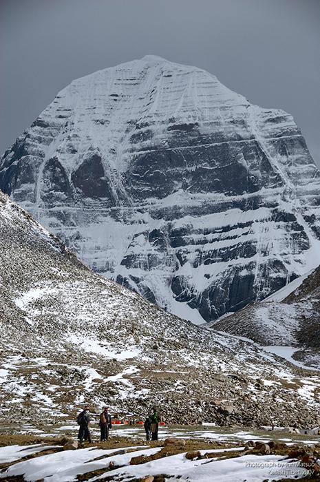 チベットのカイラス山