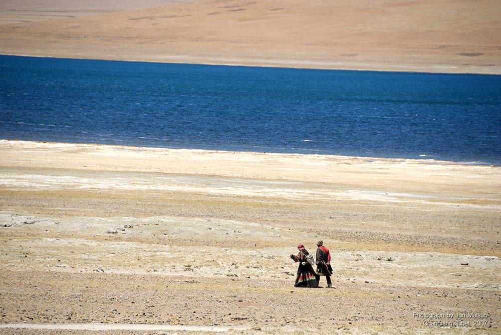 チャンタン高原の遊牧民