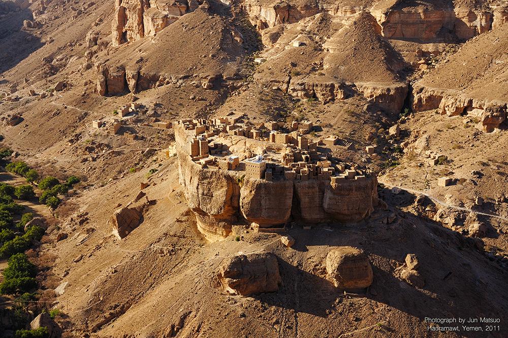 イエメンのハドラマウト地方
